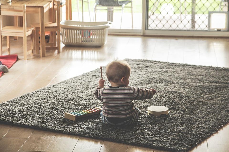 Bilde: Atopisk eksem barn